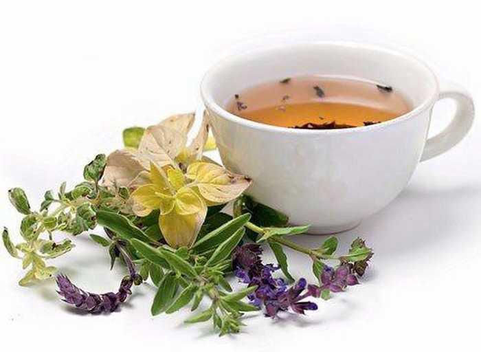 Чай на основе шалфея и мелиссы