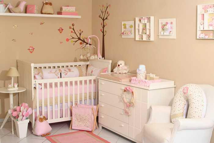 Чистая детская комната