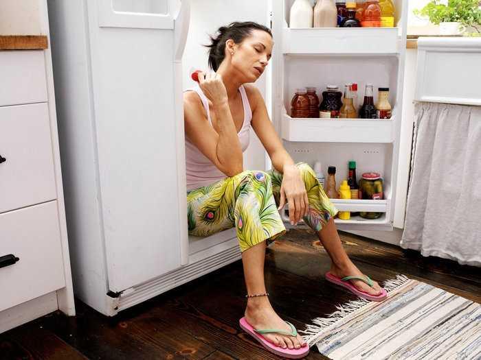 Кидает в жар после еды