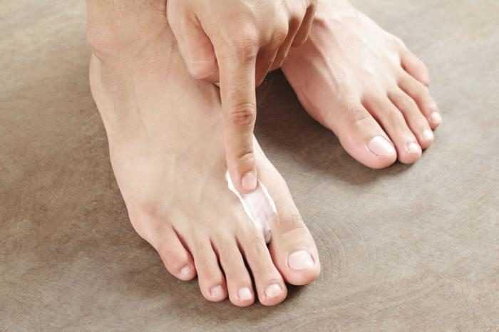 Паста для ног