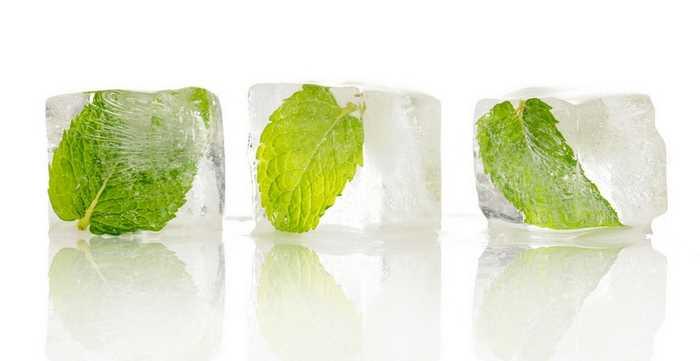 Целебный лед с шалфеем