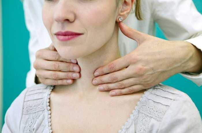 Жар при щитовидной железы