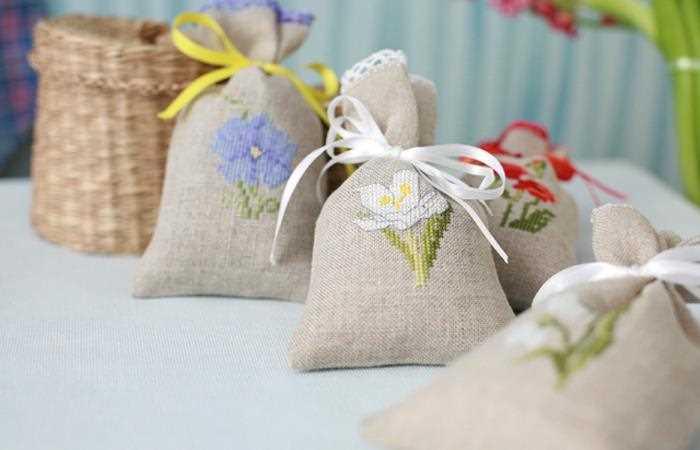 мешочки с ароматными травами