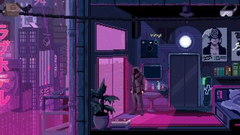 Пиксельный киберпанк в VirtuaVerse